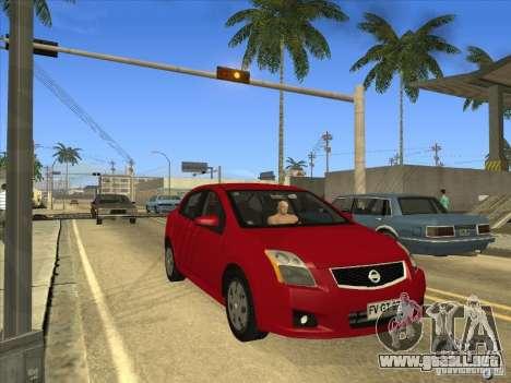 Nissan Sentra 2012 para la visión correcta GTA San Andreas