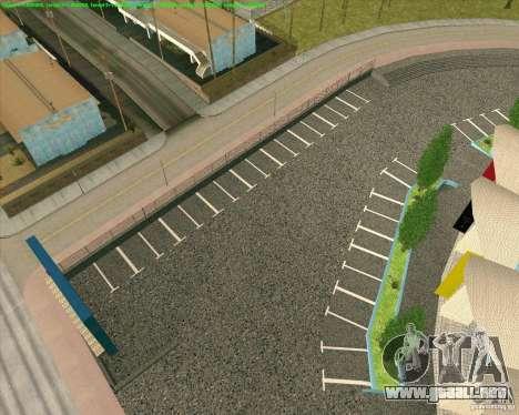 Nuevas texturas Los Santos Estadio Foro para GTA San Andreas quinta pantalla