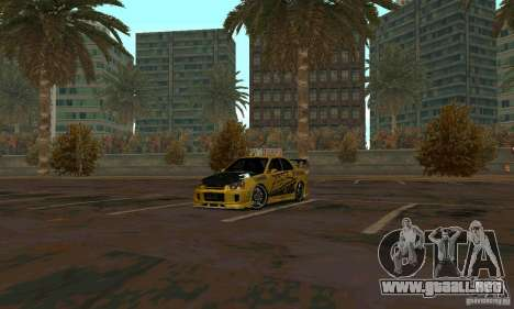 NFS Most Wanted - Paradise para GTA San Andreas