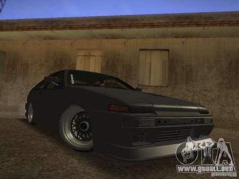 Toyota Sprinter Trueno AE86 para GTA San Andreas left