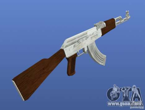 Mega Gun Pack (Chrom) para GTA 4