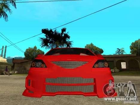 Dacia Logan Tuned v2 para la visión correcta GTA San Andreas