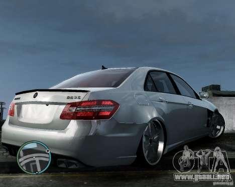 Mercedes Benz B63 S Brabus v1.0 para GTA 4 vista hacia atrás