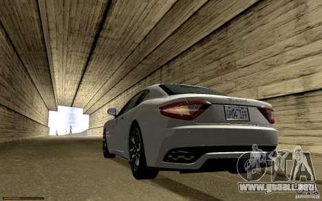 Maserati Gran Turismo 2008 para el motor de GTA San Andreas