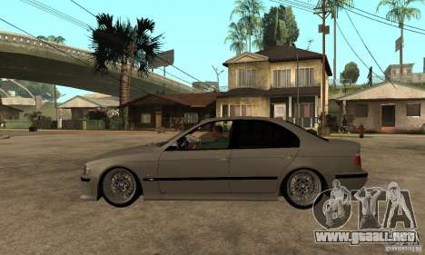 BMW E39 M5 Sedan para GTA San Andreas left