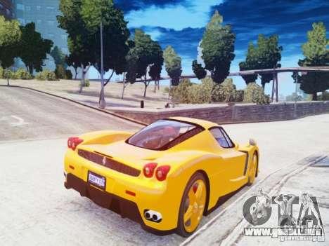 Ferrari Enzo 2002 para GTA 4 Vista posterior izquierda
