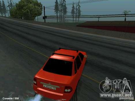 LADA 2170 102-RUS para la visión correcta GTA San Andreas