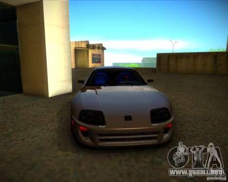 Toyota Supra SHE para la vista superior GTA San Andreas