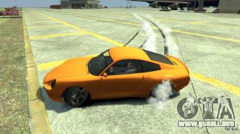 Drift Handling Mod para GTA 4 tercera pantalla