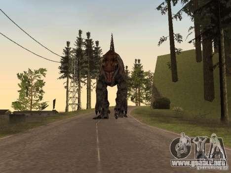 Dinosaurs Attack mod para GTA San Andreas novena de pantalla