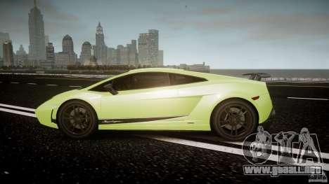 Lamborghini Gallardo LP570-4 Superleggera 2010 para GTA 4 left