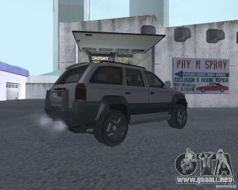 SUV de NFS para la visión correcta GTA San Andreas
