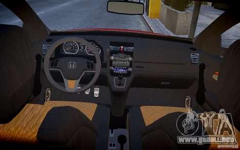 Honda CR-V Light Tuning para GTA 4 vista hacia atrás