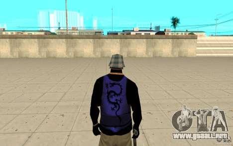 Bronik piel 2 para GTA San Andreas tercera pantalla