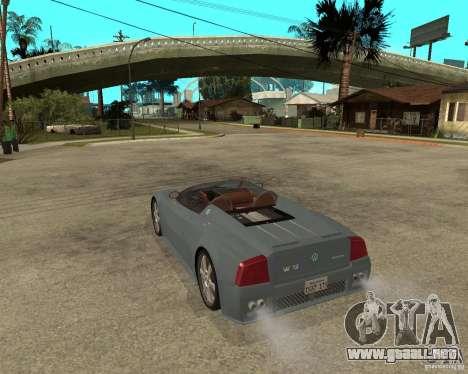 Volkswagen W12 para GTA San Andreas