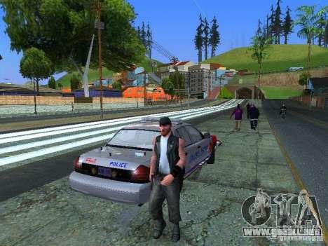 Ford Crown Victoria Police Patrol para GTA San Andreas left