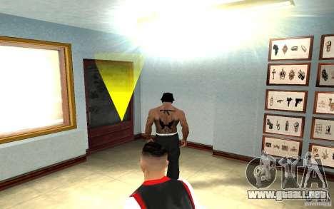 Hollywood Undead Tatoo para GTA San Andreas sucesivamente de pantalla