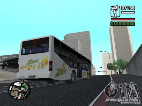 LAZ InterLAZ 12 para GTA San Andreas left