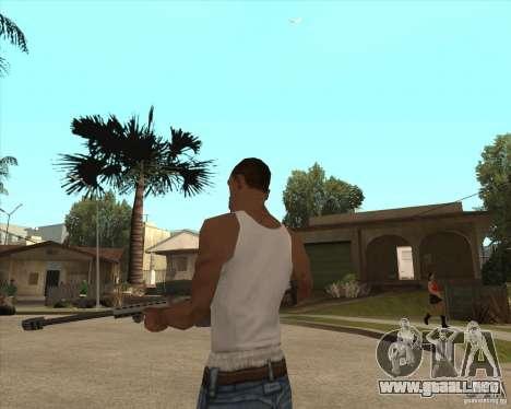 New sniper para GTA San Andreas segunda pantalla