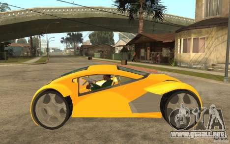 Lexus Concept 2045 para GTA San Andreas left
