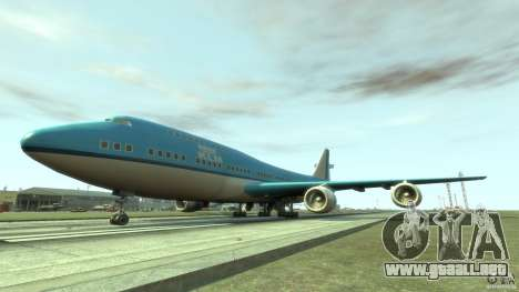 Real KLM Airplane Skin para GTA 4