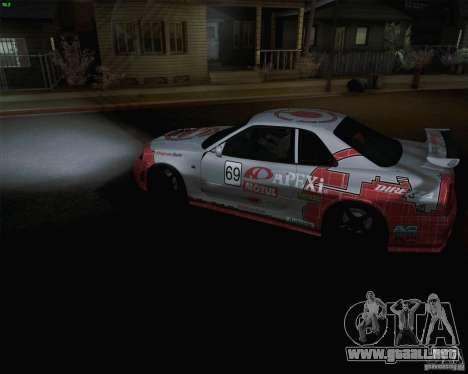 Nissan Skyline Z-Tune v2.0 para GTA San Andreas left