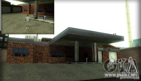 Nuevas texturas para el garaje y el edificio en  para GTA San Andreas