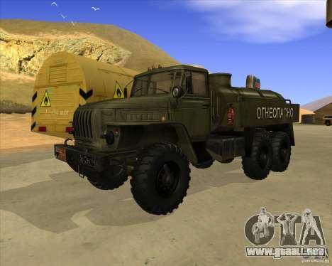 Ural 4320 camión para GTA San Andreas