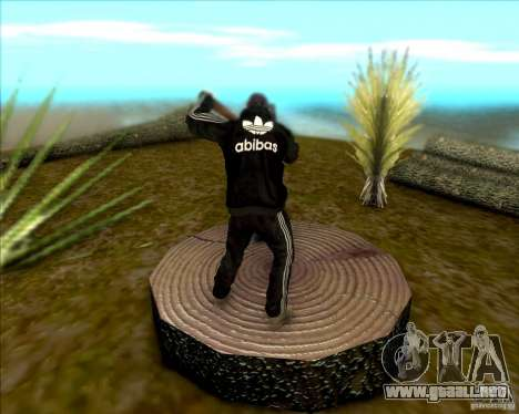 SkinPack for GTA SA para GTA San Andreas sucesivamente de pantalla
