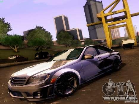 Mercedes-Benz C36 AMG para GTA San Andreas vista hacia atrás