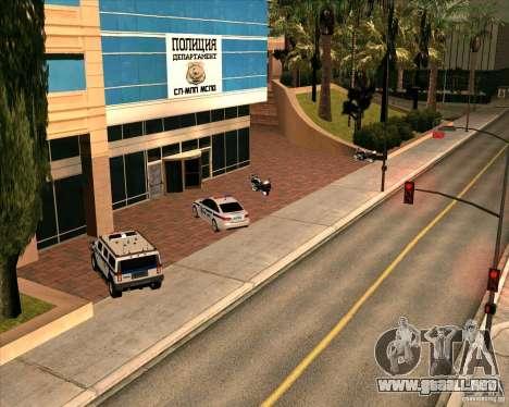 Priparkovanyj transporte v1.0 para GTA San Andreas octavo de pantalla