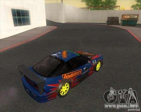 Nissan 240SX for drift para GTA San Andreas left