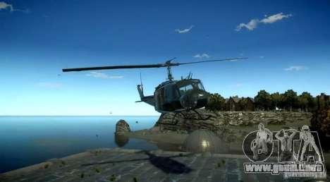 Bell UH-1D German Bundeswehr para GTA 4 visión correcta