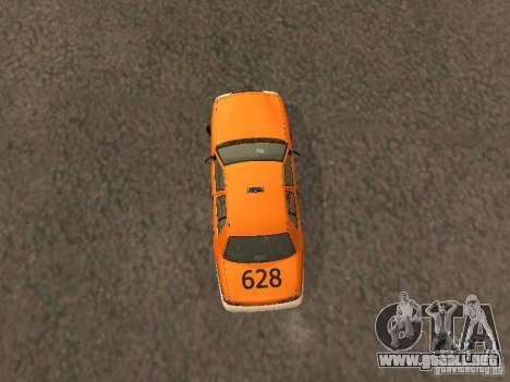 Ford Crown Victoria San Francisco Cab para visión interna GTA San Andreas