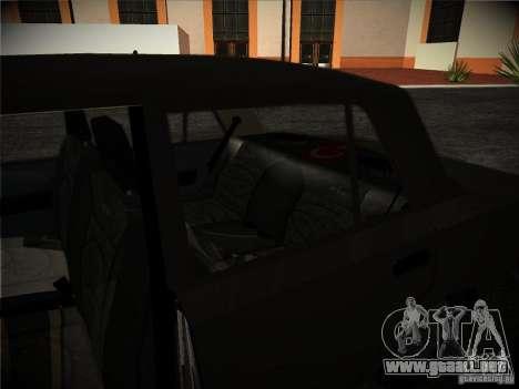 Tofas 124 Serçe para visión interna GTA San Andreas