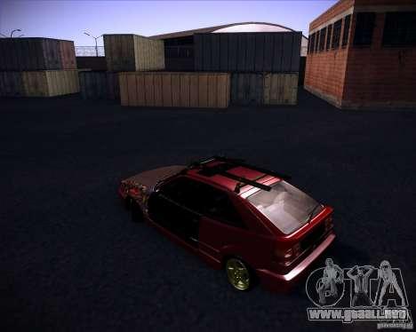 Volkswagen Corrado Rathella para GTA San Andreas left
