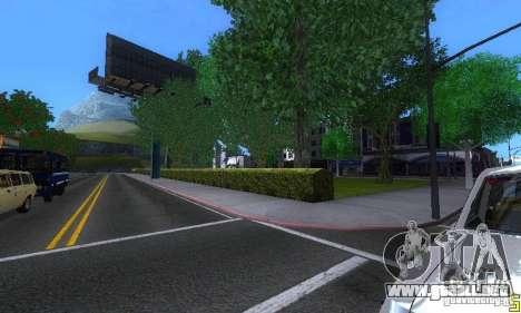 NEW STREET SF MOD para GTA San Andreas novena de pantalla