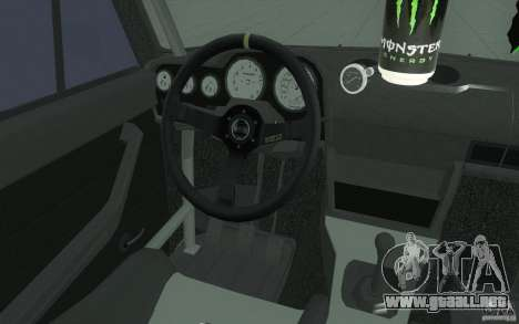 2106 VAZ Lada deriva sintonizado para la vista superior GTA San Andreas