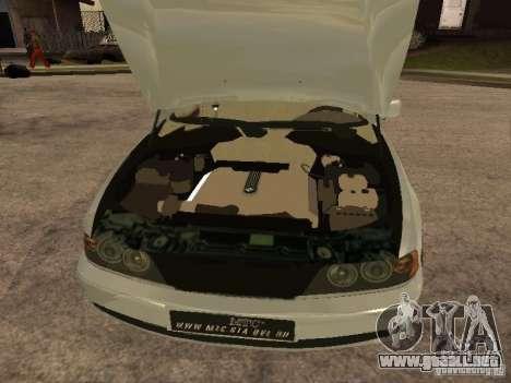 BMW 540i para la visión correcta GTA San Andreas