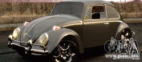 Volkswagen Fusca para GTA 4