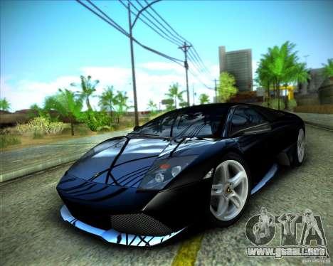 ENBSeries by ibilnaz para GTA San Andreas quinta pantalla