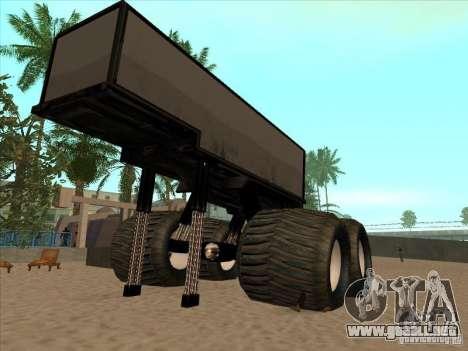 Remolque para el carro Monsterous para GTA San Andreas