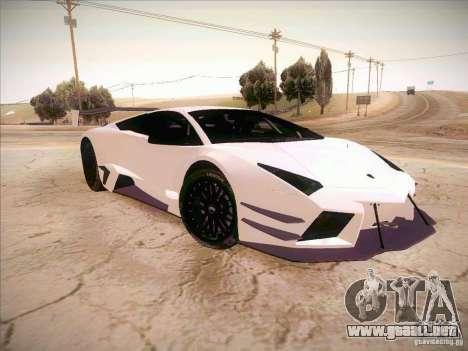 Lamborghini Reventon GT-R para la visión correcta GTA San Andreas