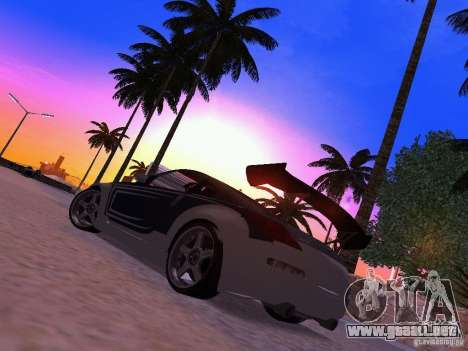 Nissan 350z Tea Hair para GTA San Andreas left