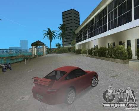 Porsche 911 GT3 para GTA Vice City vista lateral izquierdo