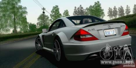 Mercedes-Benz SL65 AMG Black Series para GTA San Andreas left