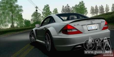 Mercedes-Benz SL65 AMG Black Series para GTA San Andreas left