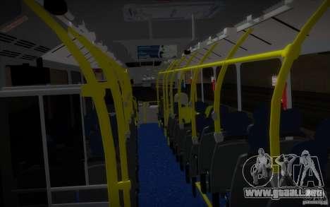 Marcopolo Viale BRT 0500M para GTA San Andreas vista hacia atrás