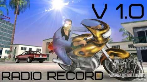 Radio Record by BuTeK para GTA Vice City