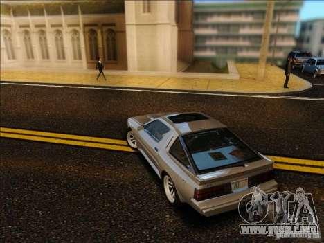 Mitsubishi Starion ESI-R 1986 para GTA San Andreas left